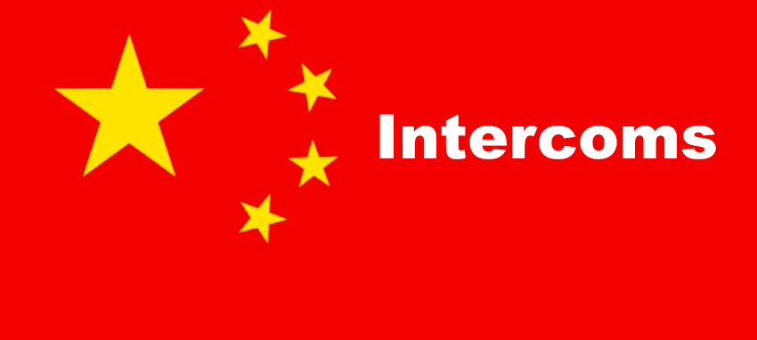 intercoms chinois