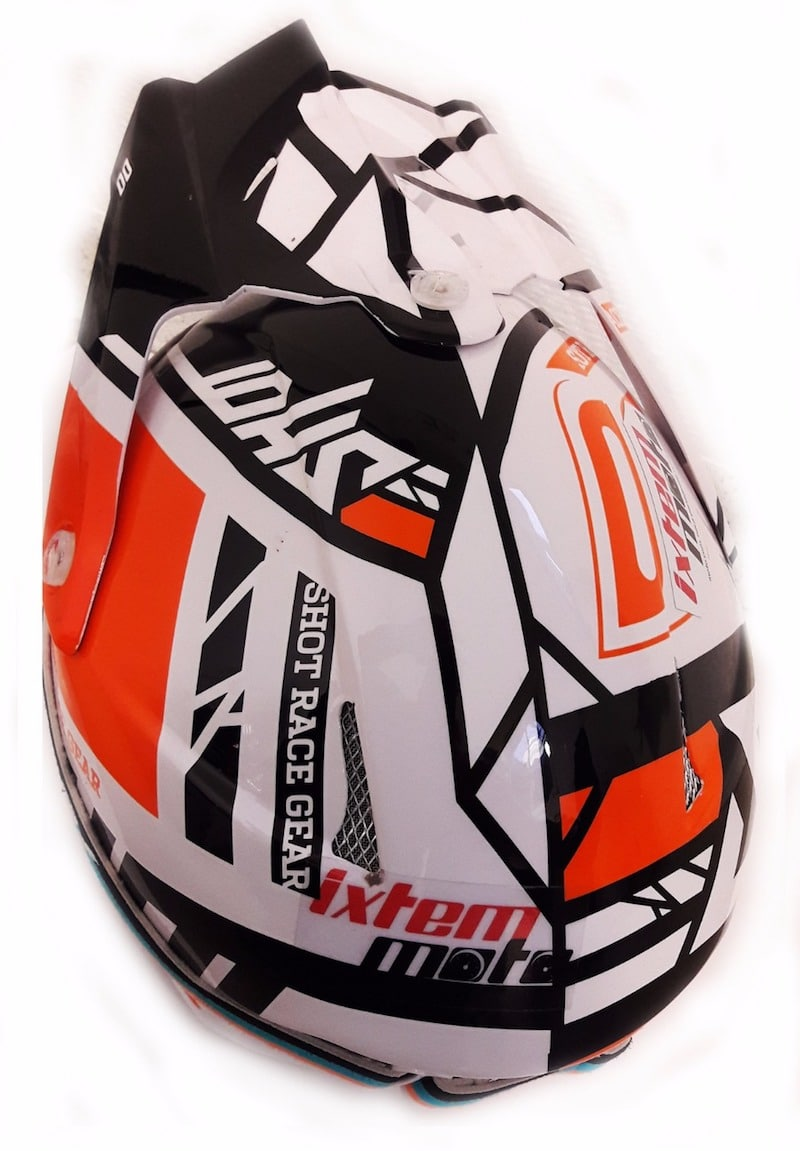 Casque cross Shot STRIKER RACEWAY 2017 ORANGE 2