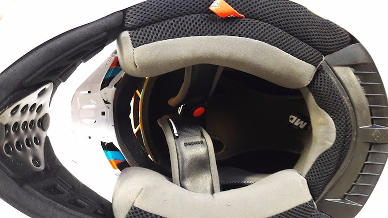 Casque cross Shot STRIKER RACEWAY 2017 ORANGE 3